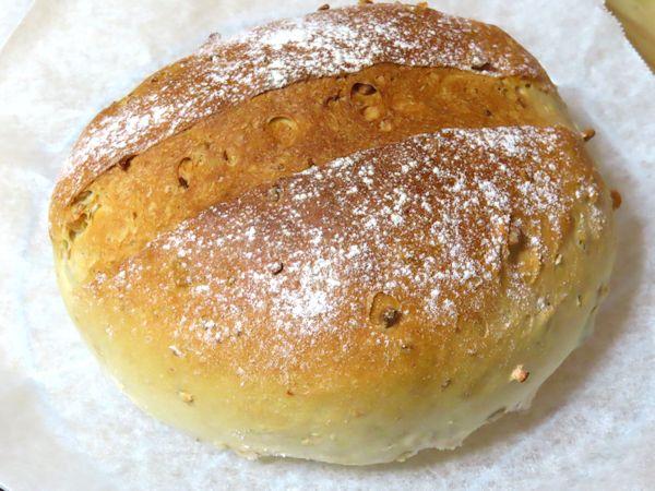 ミックスナッツ入りパン