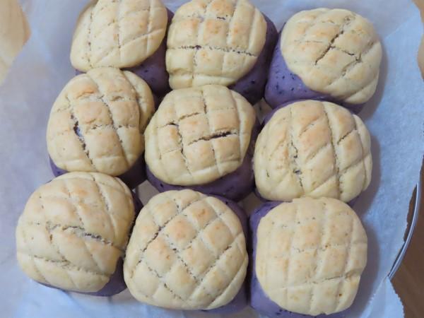 ブルーベリー メロンパン ちぎりパン